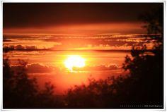 MissMette: Bilder fra helgen… Sunset from my balcony ...