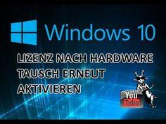 Windows 10 Lizenz nach Hardwaretausch aktivieren