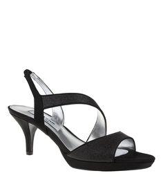 4b0132304c67 Nina Newark Glitter Slip-On Dress Sandals