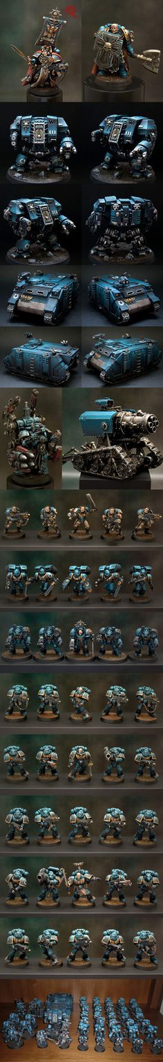 Beautiful Ultramarines army