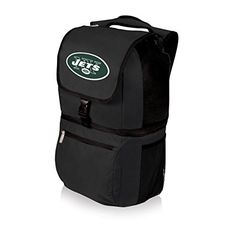 NFL Zuma Insulated Cooler Backpack New York Jets -- Find out more about the great product at the image link. (This is an affiliate link and I receive a commission for the sales) #CampKitchen Equipment