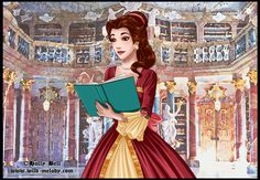 Belle, Beauty and the Beast, Disney Princess, Disney Fan Art