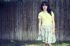 Flirty skirt tutorial..another one.