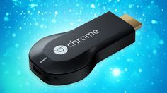 """Chromecast looks like one of those cheap USB thumb drives for storing files. It plugs into your TV's HDMI port. And it's not a thumb drive, but a streaming video """"box"""" like the Apple TV or Roku Smart Tv, Apple Tv, Tech Gadgets, Cool Gadgets, Ios App, Google Chromecast, Chromecast Hdmi, Inspektor Gadget, Google Play"""
