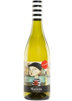 I love this Albariño... Its the first semi sweet Albariño out there... Suitable to many tastes! Vino Blanco Albariño Marieta