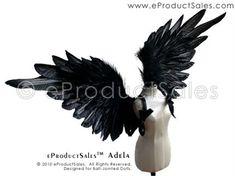 eProductSales black feather ADELA Angel Wings