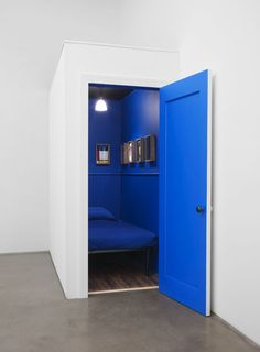 """REAL ESTATE CO.,""""Delightful one bedroom modern standalone home,situated in a great corner location"""" ,(available in blue only), pinned by Ton van der Veer"""