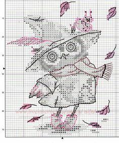 View album on Yandex. Cross Stitch Numbers, Cross Stitch Owl, Cross Stitch Animals, Counted Cross Stitch Patterns, Cross Stitch Charts, Cross Stitching, Cross Stitch Embroidery, Needlepoint Stitches, Needlework
