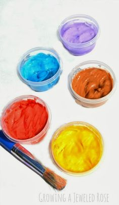 Homemade Face Paint Recipe- only 3 ingredients! (This would be great for Halloween!)
