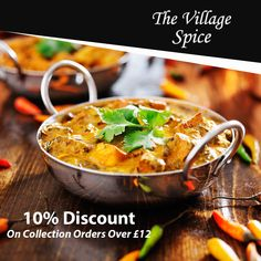 The Village Spice, top-ranked Indian takeaway in St Albans, offers delicious Indian food for you to enjoy. Our first-class service creates the unrivalled ambience for the perfect Indian cuisine experience, ensuring that all have the opportunity to enjoy the perfect cuisine. See the full menu and offers of this Indian Takeaway in St Albans and select the best deal for you. Place your order now in just a few clicks. You can pay via cash or card. Healthy Curry Recipe, Curry Recipes, Healthy Recipes, Vegan Curry, Indian Chicken, Chicken Tikka Masala, Chicken Karahi, Chicken Curry, Crock Pot