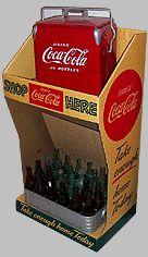 Old Coca-Cola display