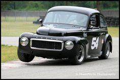 1961 Volvo PV544 – driven by Peter Valkenburg, from the annual vintage races held at Mission Raceway, B.C.