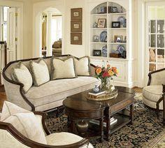 Biltmore Stationary Living Room Group by Fine Furniture Design at Jacksonville Furniture Mart Large Furniture, Quality Furniture, Furniture Design, Living Room Seating, Living Area, Living Rooms, Table Centers, Romantic Homes, Sofa Design