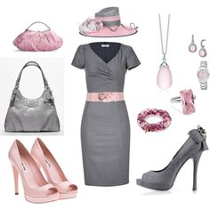 A fashion look from February 2012 featuring v neck dress, peep-toe pumps and bow shoes. Browse and shop related looks. Tea Party Attire, Tea Party Outfits, Derby Outfits, Outfits With Hats, Classy Outfits, Beautiful Outfits, High Tea Outfit, Melbourne Cup Fashion, Race Day Fashion