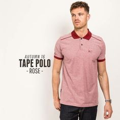 The Tape Polo from @peacefulhooligan is one of their best to date. And you can grab it online now #EightyEightStore