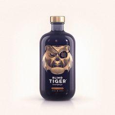 Blind Tiger Gin on Behance