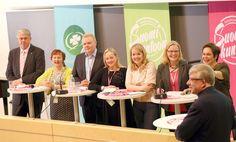 Keskustan varapuheenjohtajuutta tavoittelee seitsemän henkilöä: Juha Rehula, Anne Kalmari, Antti Kurvinen, Annina Ruottu, Katri Kulmuni, Hanna Huttunen ja Hannakaisa Heikkinen.