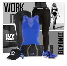 """beyonce ivy park"" by divacrafts ❤ liked on Polyvore featuring Ivy Park, Topshop, NIKE, adidas, Timex, Original, Beyonce and IvyPark"