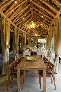 Phinda The Homestead, Phinda Private Game Reserve, South Africa Luxury Restaurant, Restaurant Design, Colonial, Wine Safari, Safari Decorations, Vernacular Architecture, Lodge Decor, Shabby, Best Interior Design