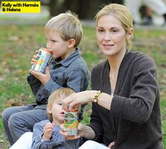 Kelly Rutherford: Daughter Helena Wants To Be Just Like Her Big Brother Hermés…