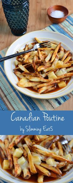 Slimming Eats Healthy Canadian Poutine - Gluten Free, Slimming World ...