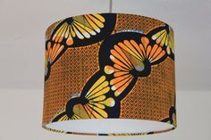 African Print lampshade/Ceiling pendants by lanyeroafrochic, $56.00