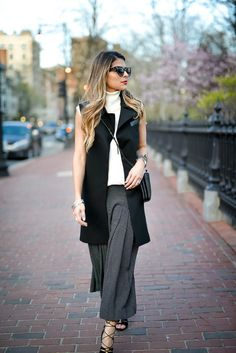 How to wear Culottes , Spring Staple