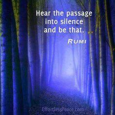 Ruminations - Silence