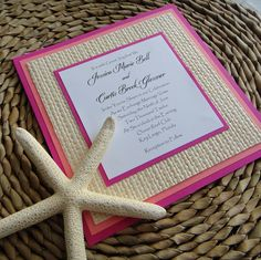 Bright Beach Invitation