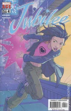 Jubilee (2004) 4 Marvel Comic books modern age coverX-men Mutants