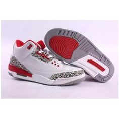 67dc57e26c1 http   www.anike4u.com  Air Jordan Retro 3 White Red