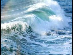 Waves Pictures and Images Water Waves, Sea Waves, Sea And Ocean, Ocean Beach, Seascape Paintings, Landscape Paintings, Waves Photography, Ocean Pictures, Water Art