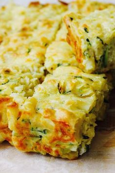 "#RecipeoftheDay: Mac and Cheese Zucchini Slice - ""Love love love this recipe ... The kids love it (and they're super fussy!)"" - Frogutton"
