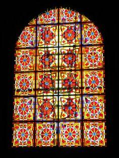 Iglesia Imperial de Santa María de Palacio. Logroño. Vidrieras Susi y Julián S.C.