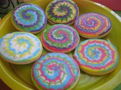 """Perfect for the Hippie at heart birthday party. Many ideas here, including """"peace sticks."""""""