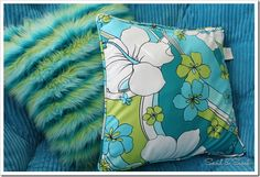 Teen Room PILLOW TEXTURE! Layer fuzzy fur with graphic patterns against soft corduroy for an eclectic combo!