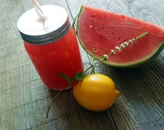 Agua Fresca mit Wassermelone – Very (iss)ima Aqua, Fruit, Drinks, Food, Watermelon, Mint, Meal, The Fruit, Eten