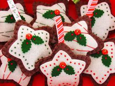 choir handmade ornaments | Star Ornaments 30+ Cute Handmade Christmas Ornaments & Decoration ...