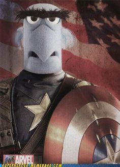 Muppets / Capt. America