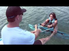 Wakeboarding - How to get up on a wakeboard - YouTube
