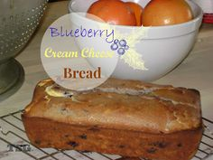 TSG: Blueberry Cream Cheese Bread