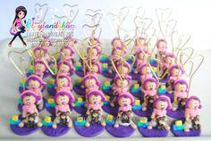 Christening Bapstimal Baby Souvenir - Clayland Souvenir Shop Polymer Clay Princess, Property Rights, Christening, Concept, Shop, Baby, Design, Cold, Cold Porcelain