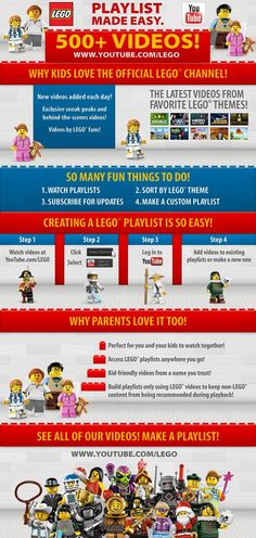 How to create a LEGO playlist. Perfect for travel and parties. #LEGO #spon