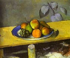 Apples, Peaches, Pears and Grapes - Paul Cézanne