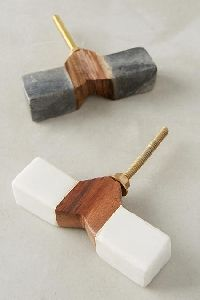 Tanga Toggle Knob by Anthropologie in White, Knobs