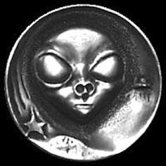 Robert Shamey - Alien Antique Coins, Old Coins, Hobo Nickel, Outer Space, Aliens, Jewelry Collection, Buffalo, Money, Antiques