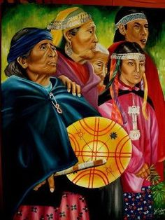 Violencia y represión chilena contra el Pueblo Mapuche Native Art, Native American Art, Southern Cone, Indian People, Modern History, Aboriginal Art, Chicano, Artist Painting, Matisse
