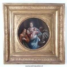 Una Sacra famiglia Veneta del '600 transitata per collezioni Reali Inglesi - ANTIQUARES