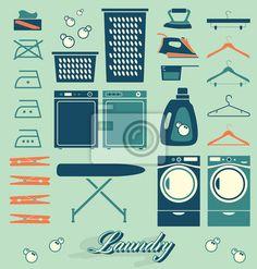 simbolos de lavar roupa - Pesquisa Google