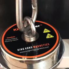 Check out the KK Monster, one of the biggest and strongest fishing magnets available on the market. It packs a whopping or 1800 pounds in pulling strength. Will pick a small car ; Survival Kit Gifts, Survival Quotes, Camping Survival, Survival Prepping, Survival Gear, Magnet Fishing, Kayak Fishing, Fishing Tackle, Art Of Manliness
